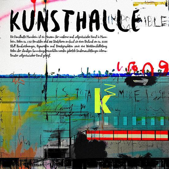 Kunsthalle, mannheim, Stadt, Kunst, Kunstdruck, Popart, Einrichtung, Onlineshop