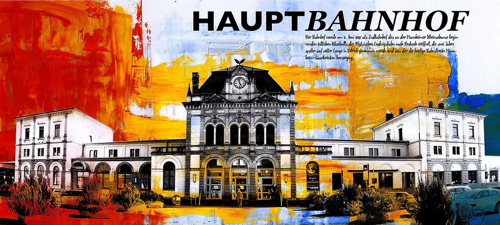 neustadt, Hauptbahnhof, dekoration, Gemälde, Kunstdruck, Wandbild, Kunstraum, online kaufen, shop, kunst, Künstler
