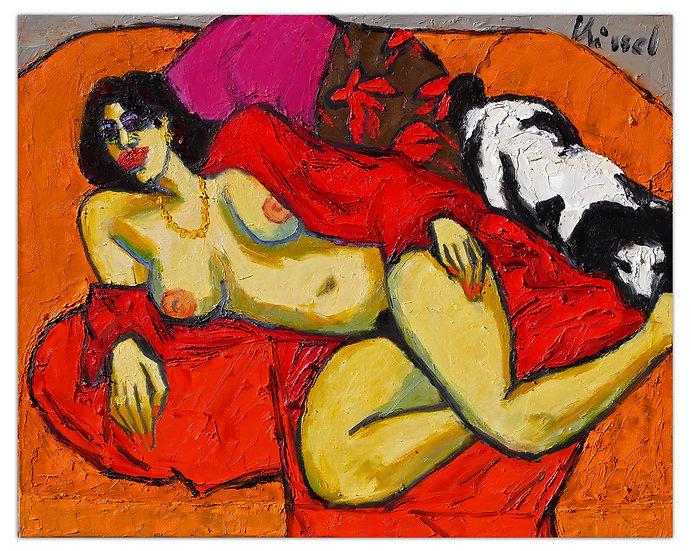 Gernot Kissel Gemälde, Kunstdruck, Kissel Kunstbilder, Speyer, Art2 kunstraum, öl auf Leinwand, abstrakt, portrait kissel