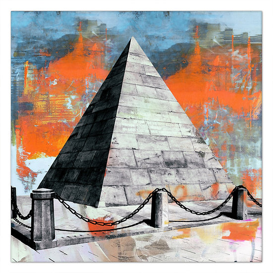 pyramide Kalrsruhe Kunstbild, Wandbilder Karlsruhe, Art2 kunstraum, kunst karlsruhe, kunstbilder karlsruhe