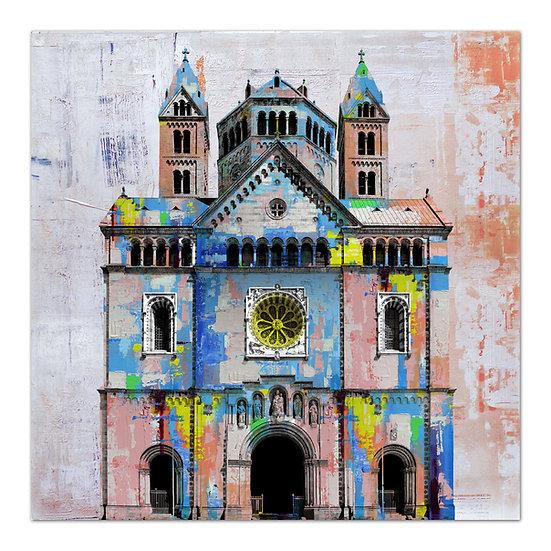Speyer kaiserdom wandbild, art2 kunstraum, wandbilder speyer, geschenkartikel Speyer,