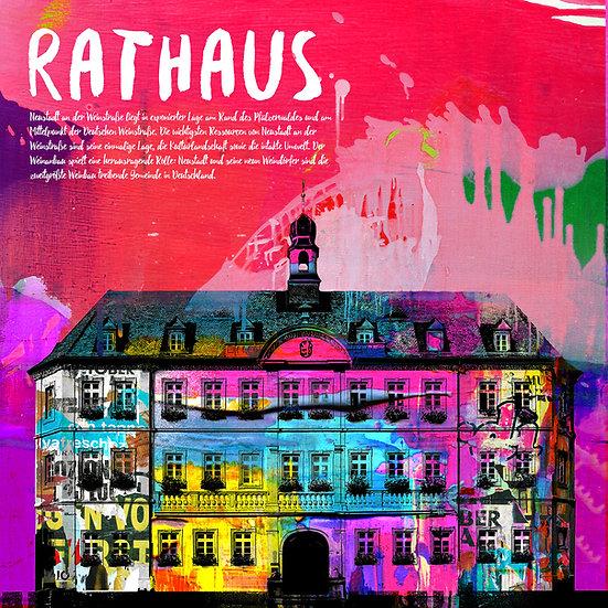Rathaus, Neustadt, kunst, dekoration, modern, abstrakt, Wandbilder, online kaufen, Kunstgalerie, Ausstellung, Rabatt, Aktion