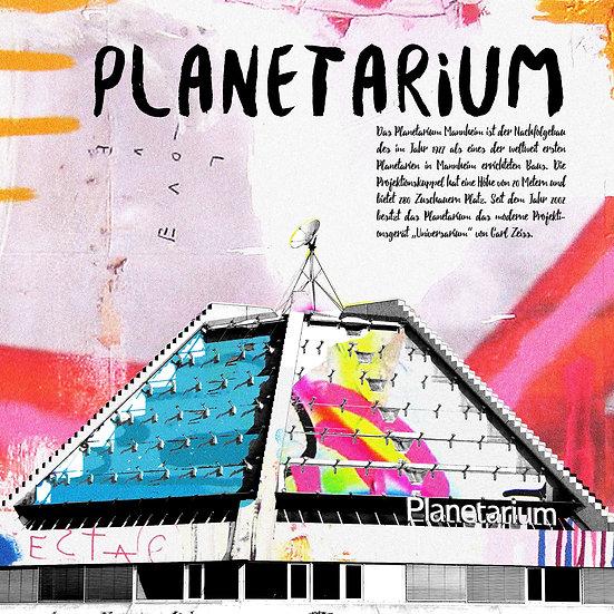 planetarium, mannheim, Kunstdruck, motive, kunst, art, modern, abstrakt, Dekoration, wohnen