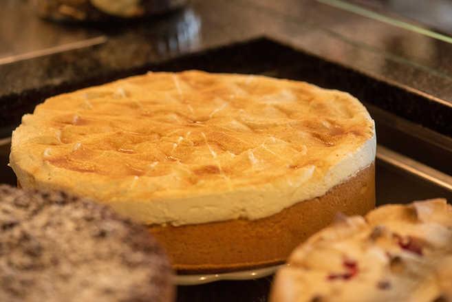 Hausgemachter Kuchen im Amalie