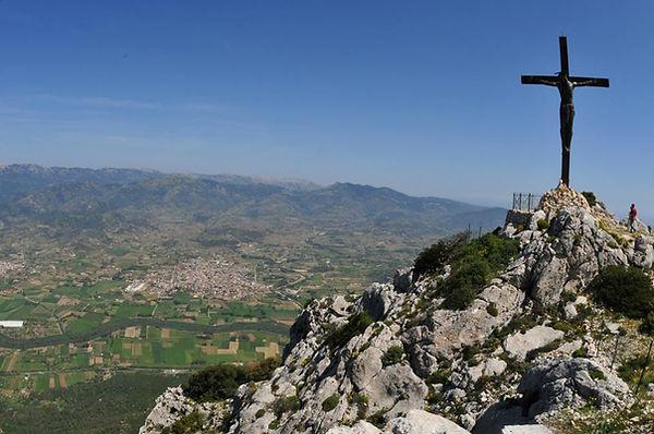 Statua Cristo Monte Tuttavista Galtellì