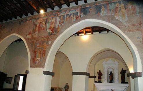 Affreschi chiesa S.Pietro Galtellì