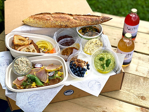 Saturday Picnic Brunch Box  (for 2 to 3)