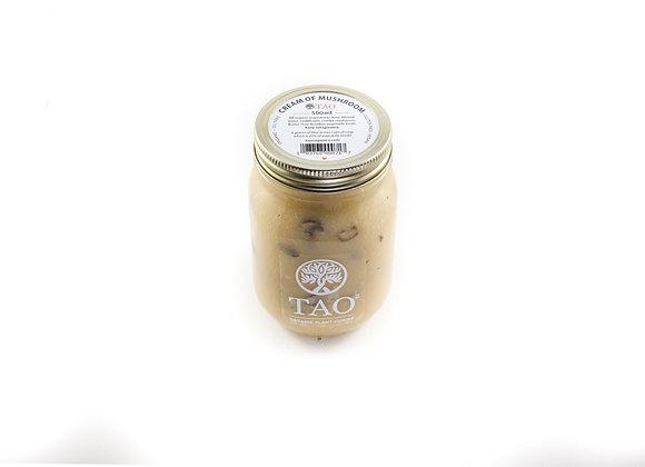 Cream of Cauliflower & Mushroom (Frozen)   By TAO Organics