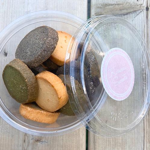 Japanese Tea Cookies (Assorted 15 Pack) | Kawaii Sweets