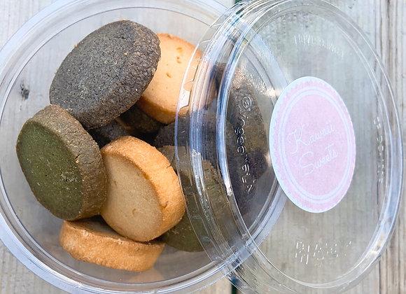 Japanese Tea Cookies (Assorted 15 Pack)   Kawaii Sweets