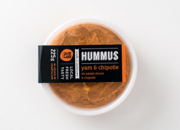 Yam & Chipotle Hummus | By Bobali Foods