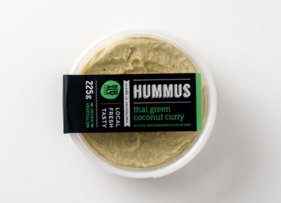 Thai Green Coconut Curry Hummus   By Bobali Foods