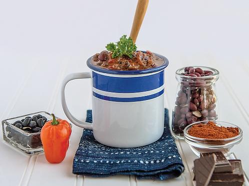 Mole Style Chili (Frozen)   By Kiki's Kitchen