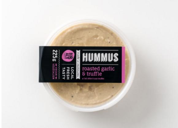 Roasted Garlic & Truffle Hummus | By Bobali Foods