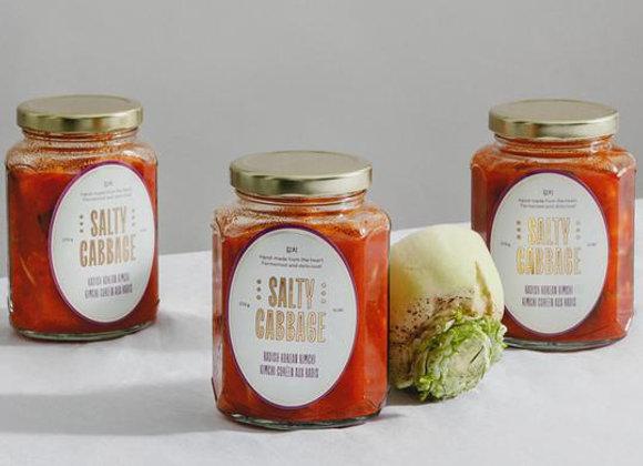 Radish Kimchi   By Salty Cabbage