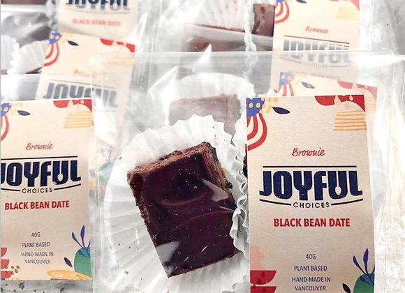Black Bean Date Brownie (6 pack) | By Joyful Choices