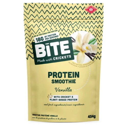 Vanilla Cricket & Plant-Based Protein Powder | Bite Snacks