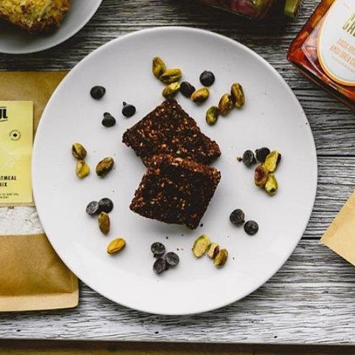 Chocolate Pistachio Pecan Bar - Toasted Coconut (6-Pack) | By Joyful Choices
