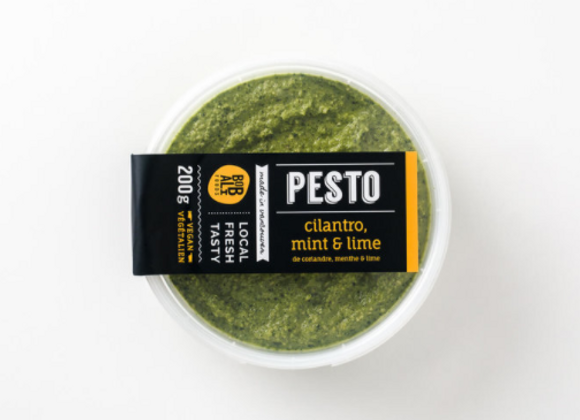 Cilantro Mint & Lime Pesto | By Bobali Foods