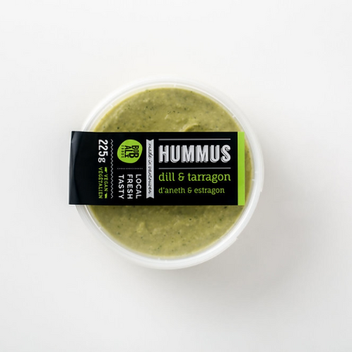 Dill & Tarragon Hummus | By Bobali Foods