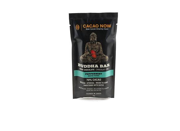 Buddha Bar Chocolate Energy Bar (Peppermint) | By Cacao Now