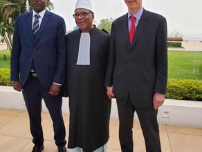 Reunion du BPI a Bamako.