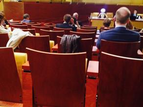 Formation sur les données à caractère personnel de l'UIA à la cour euro de justice Luxembourg.