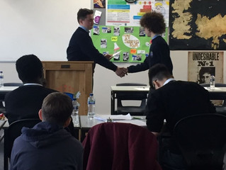 Debating trip to St Mary's College, Dundalk