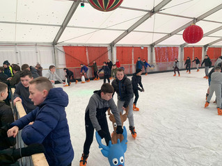 1st years Dancing on Ice