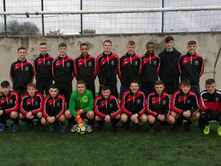 u19 Football Success