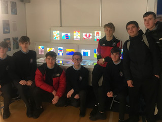 Art Students enjoy Creative Engagement Exhibition
