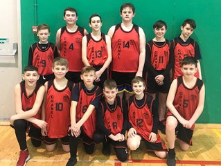1st and 2nd year Basketball