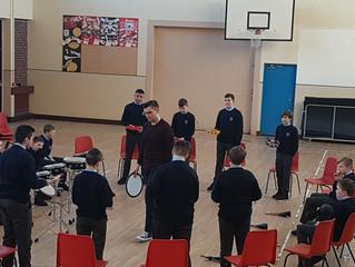 1st year JCSP Students Get Rhythm