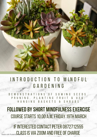 Introduction to Mindful Gardening