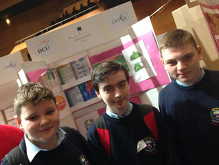 1st, 2nd & 5th years represent Chanel at SciFest