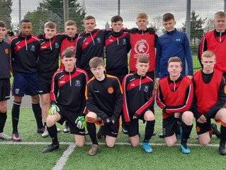Disappointment in North Region Final for u17s