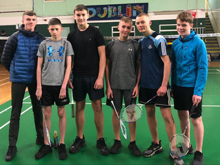 u16 Badminton Success