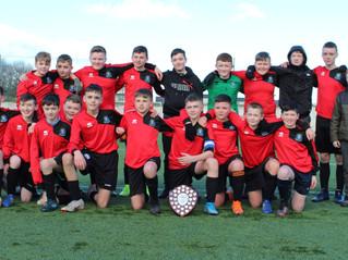 u14 North Dublin Metro League Champions