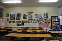 A French Classroom @ Chanel College
