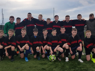 Disappointment for u14s in Leinster Cup game