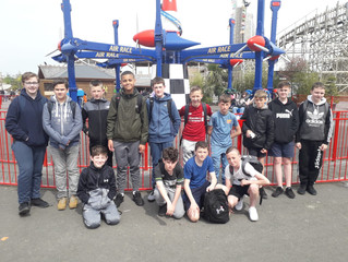 1st year trip to Tayto Park