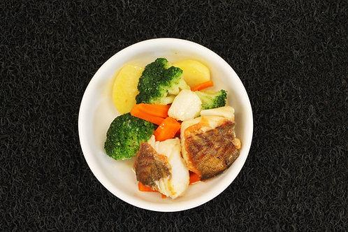 Lombo de BACALHAU Cozido // Baked Salt Cod