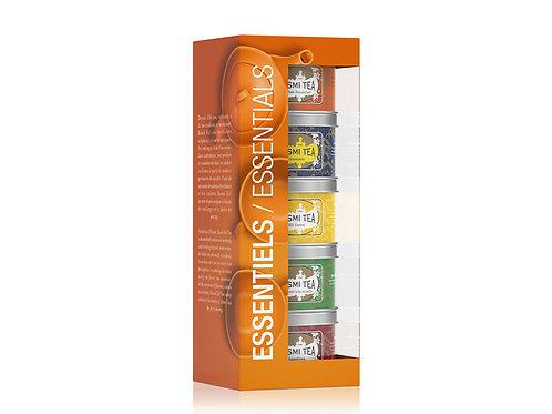Kusmi   The Essentials gift   bio   5x25g
