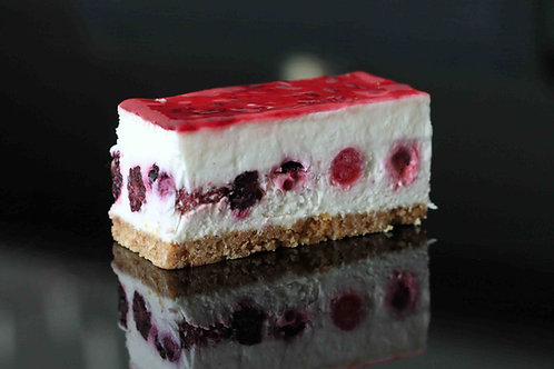 Fatia Cheesecake de Frutos Vermelhos
