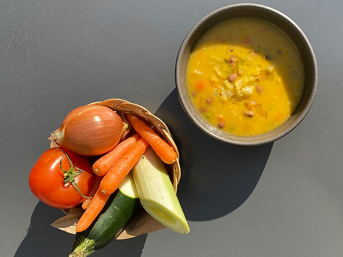 (vegan) Sopa da Horta sem batata | refrigerado | 400g | 2 pax