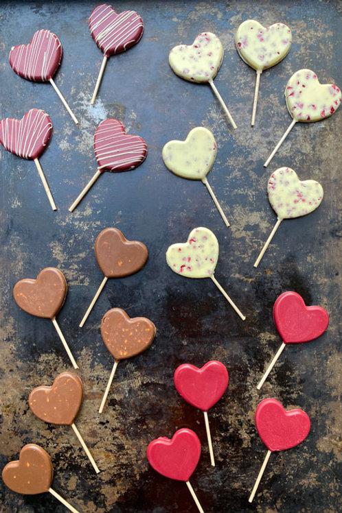 Lollipop de Chocolate | São Valentim