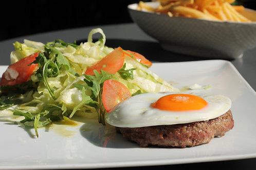Bife BURGER 150 como Prego // Burger 150 on plate
