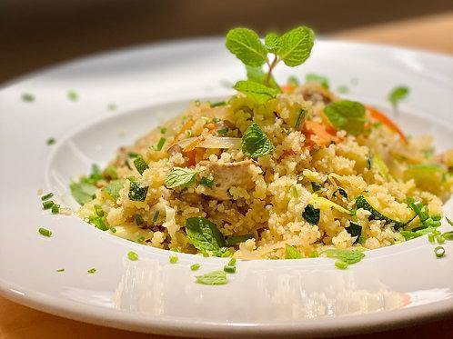 (vegan) Quinoa com LEGUMES e açafrão | refrigerada | 300g | 1 pax