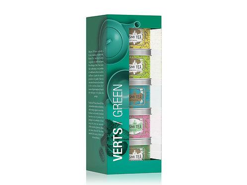 Kusmi | Green Teas gift | bio | 5x25g