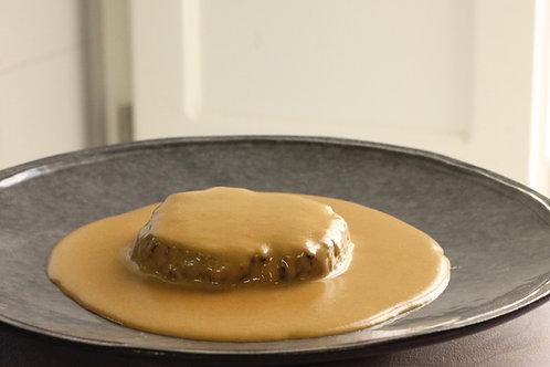 Bife BURGER 150 em M. à Café // Beef Burger with Mustard Sauce